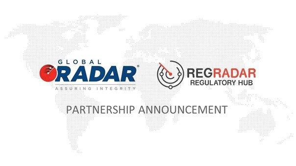 Read more about the article RegRadar partners with Global RADAR to further increase the value proposition of the companies to their clients.